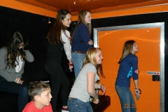 orange 2 level dancing!